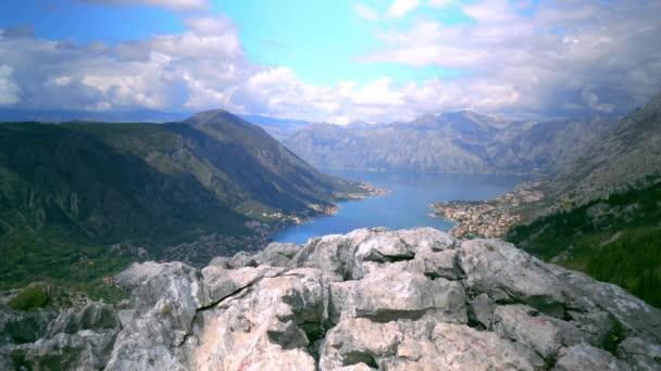 Beautiful Nature Landscape. Empty Stone Mountain Peak