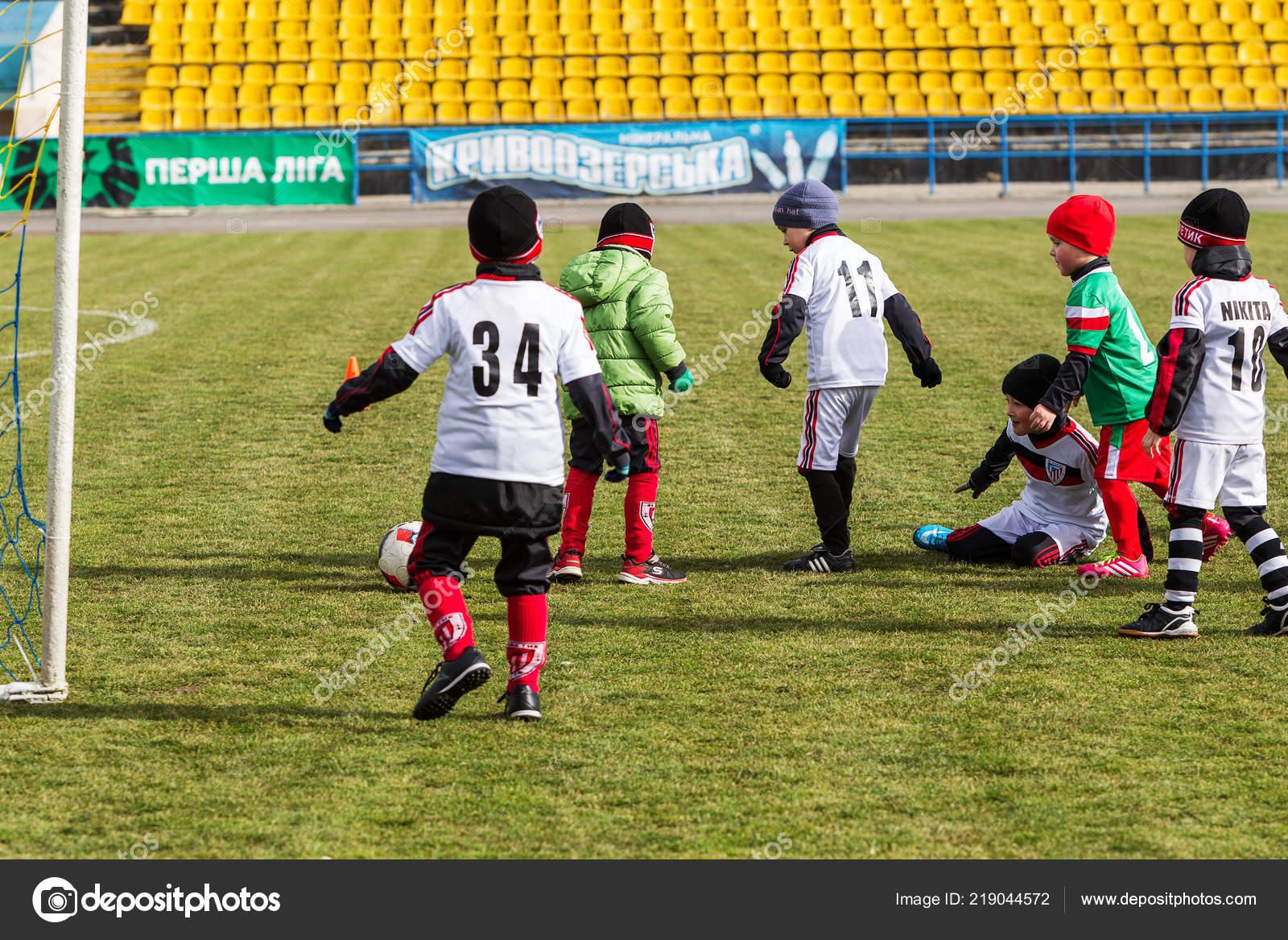 Odessa Ucrania Abril 2018 Entrenamiento Deportes Juegos Para Ninos