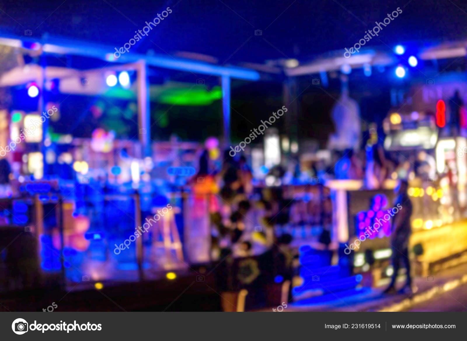 Interior Small Restaurant Blurred Background Blurred Bokeh Cafe Interior Warm Stock Photo C Alesik 231619514