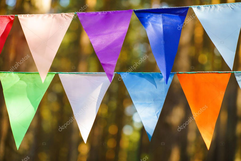Decorative Party Pennants for Birthday Celebration