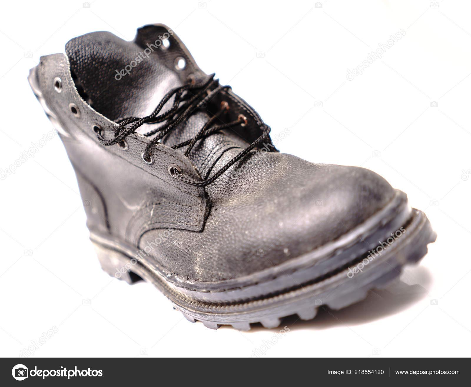 79ebf8df2a126 Sapatos de proteção trabalhador — Stock Photo © Supertrooper  218554120