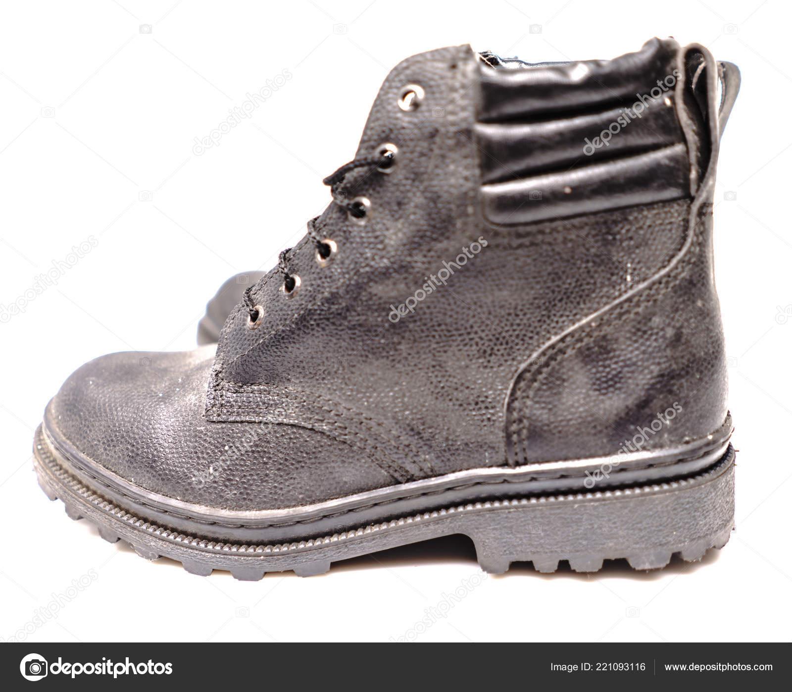 533d869fbcdf6 Sapatos de proteção trabalhador — Fotografias de Stock ...