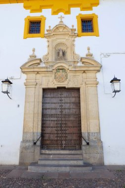 Ancient gate in Cordoba city, Andalusia region, southern Spain