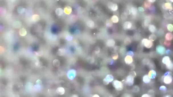 Priorità bassa scintillante di cristalli luccicanti, bella boke.