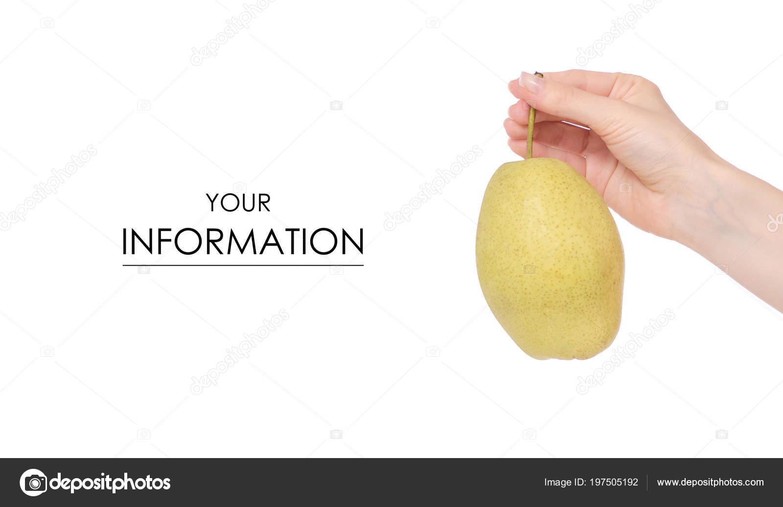 Fruit Hybrid Apple Pear In Hand Pattern Stock Photo C Evgenyjs1