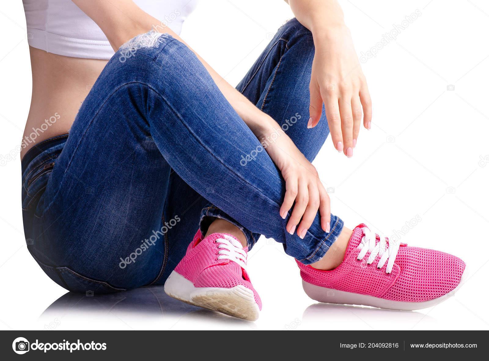 low priced f58fd 509ed depositphotos 204092816-stock-photo-woman-denim-sneakers.jpg