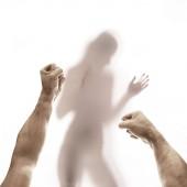 konzeptionelles Bild häuslicher Gewalt