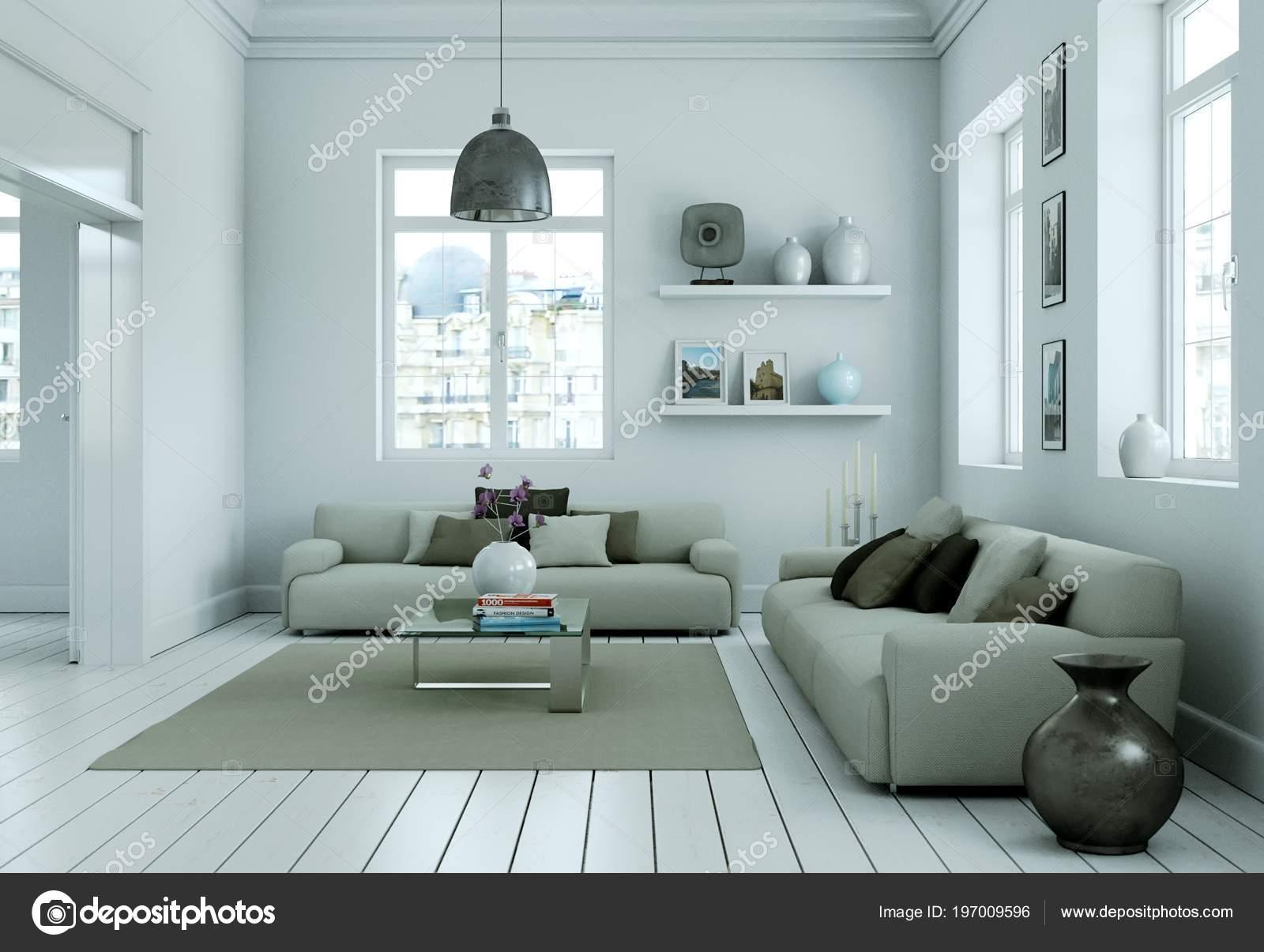 E moderno dise o de interiores living comedor en estilo - Diseno de interiores modernos ...