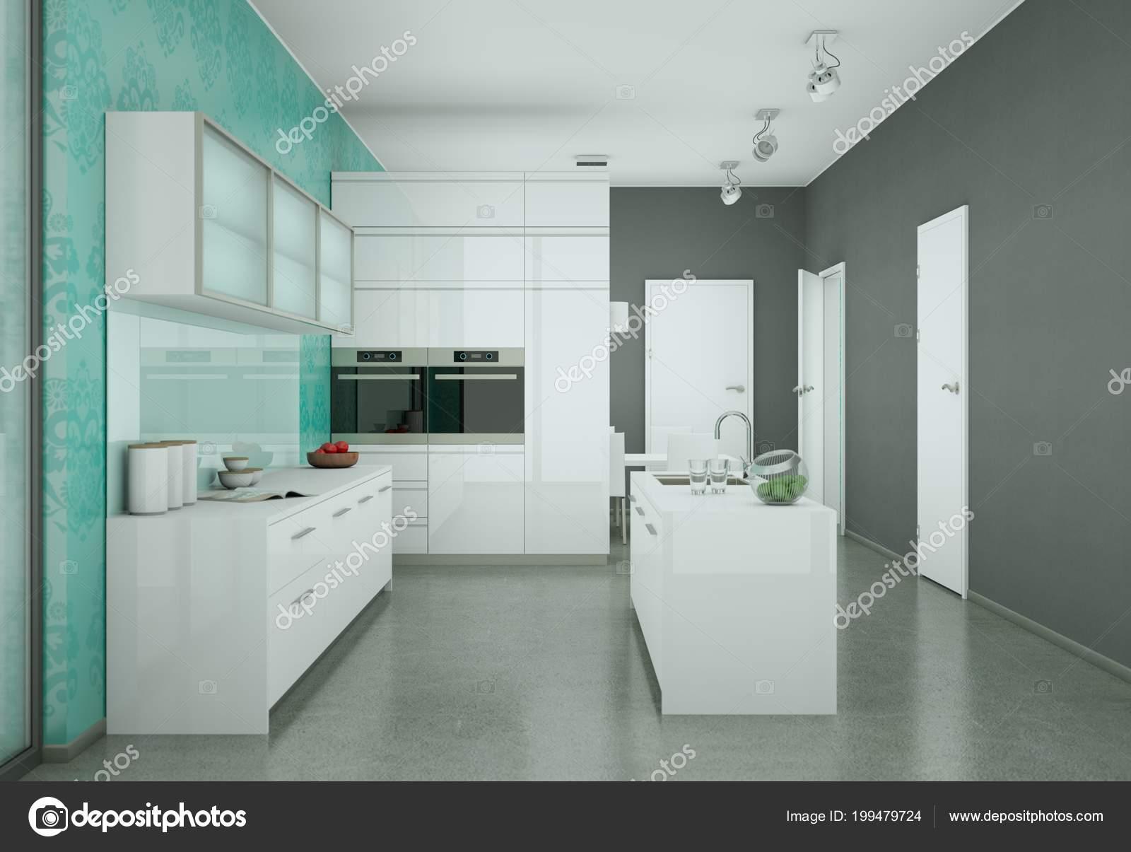 Tapeten Küche Modern. Arbeitsplatte Küche Ebay Ikea Method Füße ...