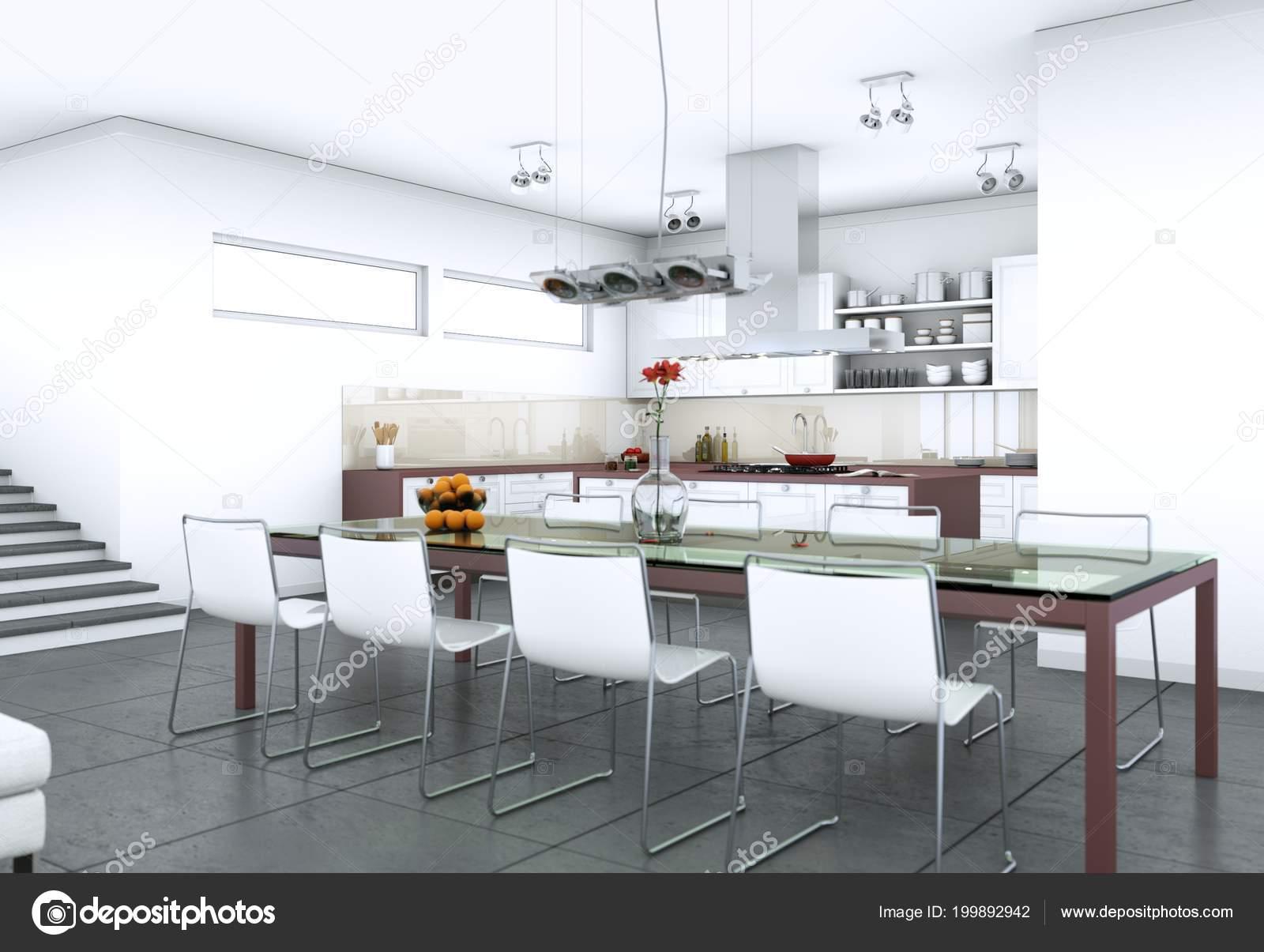 Elegant arredamento sala da pranzo in moderno foto stock with arredamento sala da pranzo moderna - Arredo sala da pranzo moderna ...