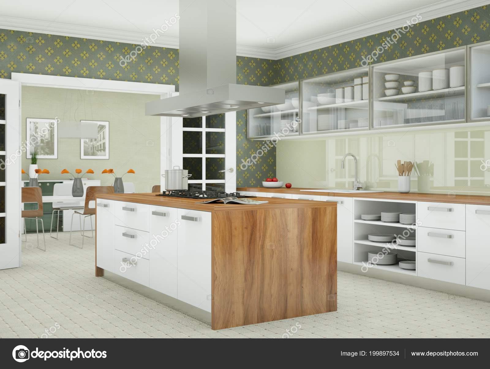 Mooie Witte Keuken : Mooie witte keuken keuken keuken woonkamer keuken