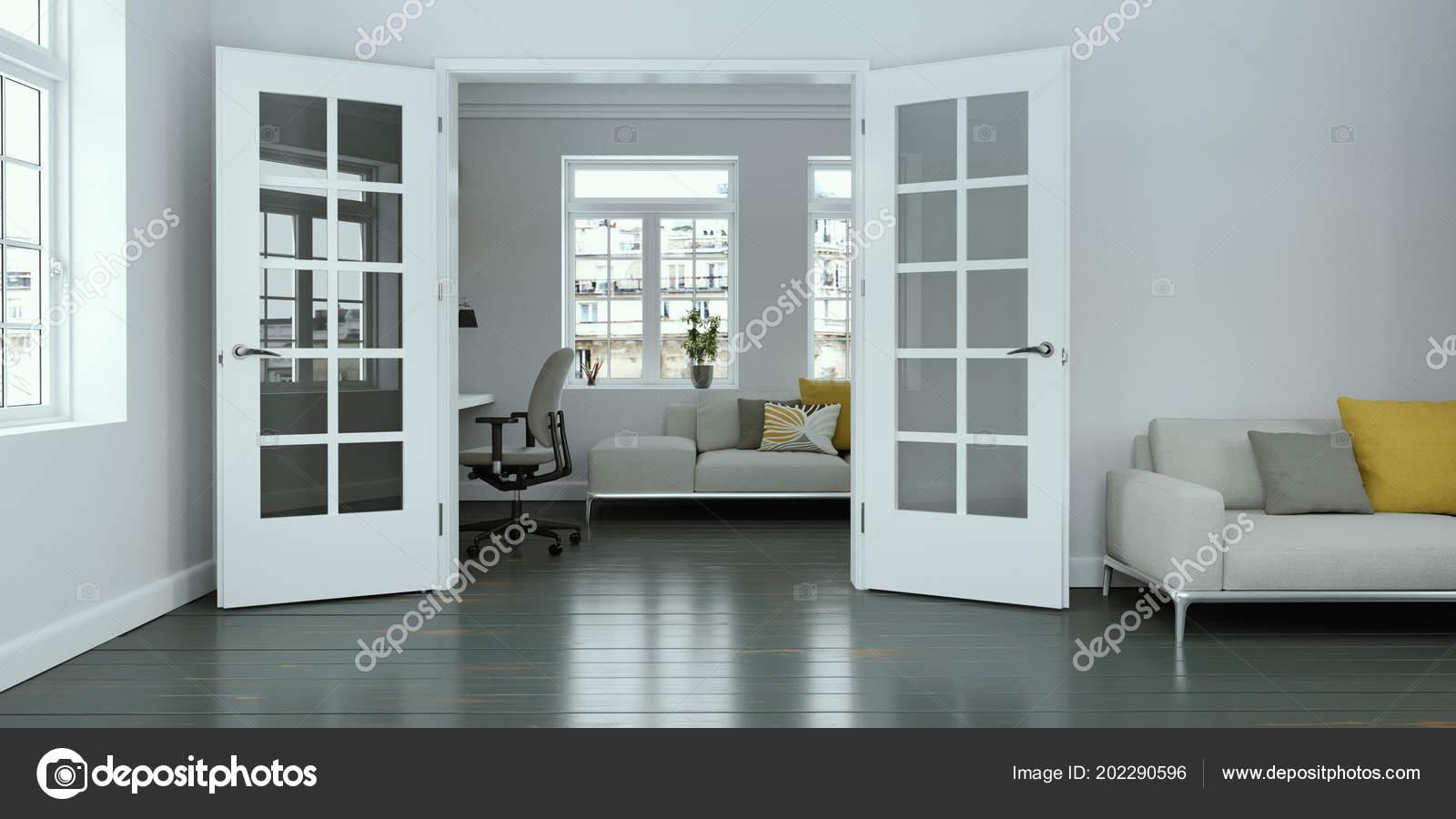 design de interiores moderno sala branca stock photo virtua73