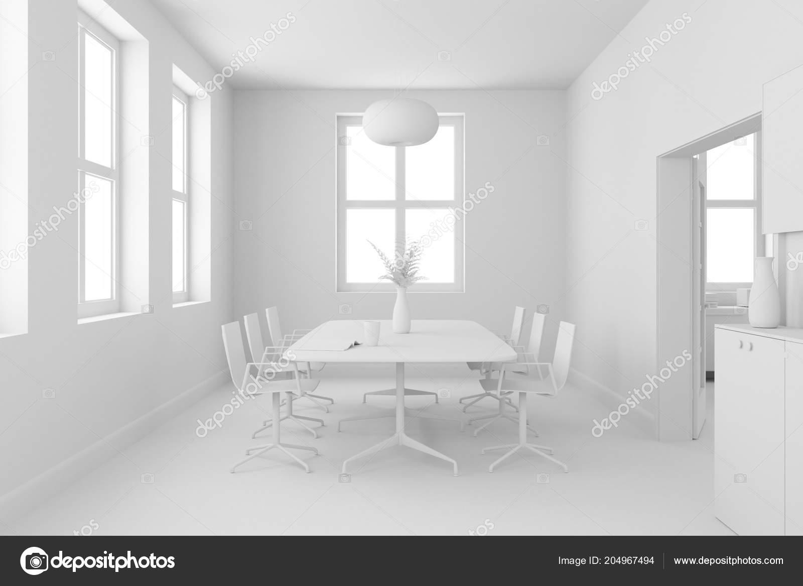 Modèle de salle à manger design d\'intérieur — Photographie virtua73 ...