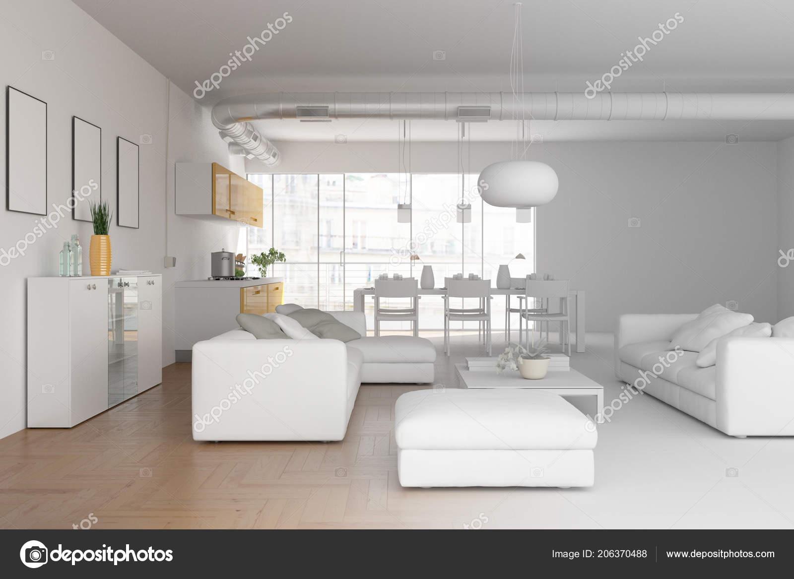 Model van modern interieur woonkamer u2014 stockfoto © virtua73 #206370488