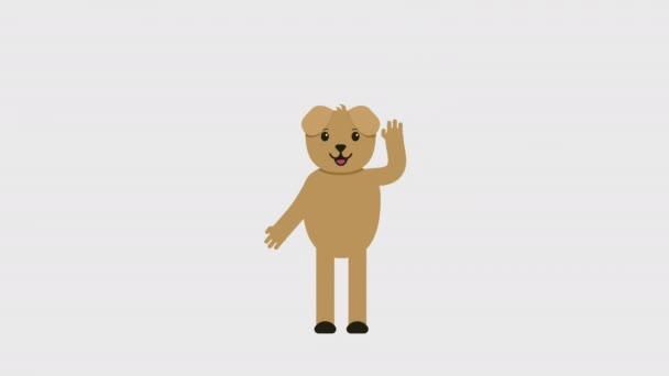 Animated Cartoon Dog Bones Doggie Animation Transparent Background Stock Video C Severynvlad Gmail Com 273267070
