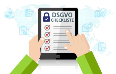DSGVO General Data Protection Regulation Checklist