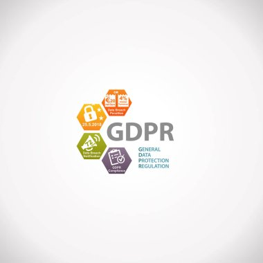 GDPR General Data Protection Regulation Notification Infographic