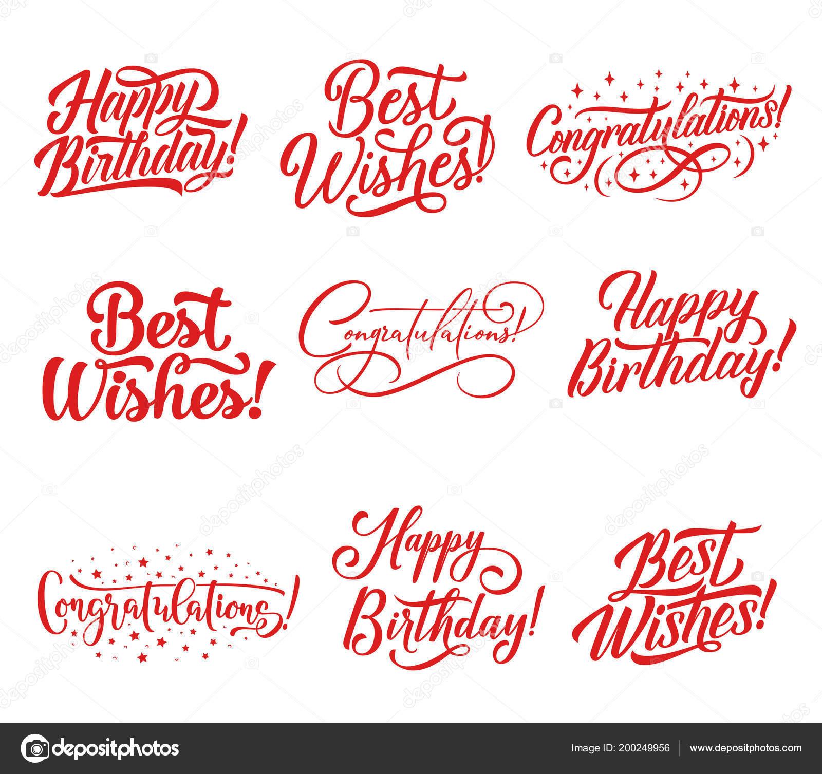 Felicitaciones Letras Para Diseño De Tarjetas De