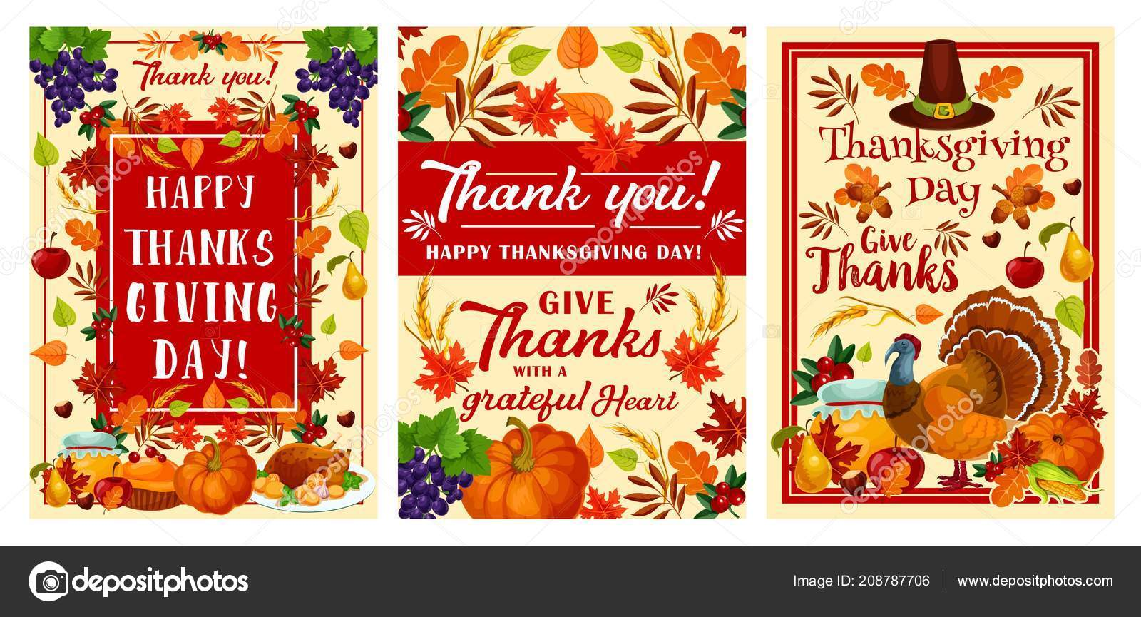 Thanksgiving day holiday greeting banner design stock vector thanksgiving day holiday greeting banner design stock vector m4hsunfo
