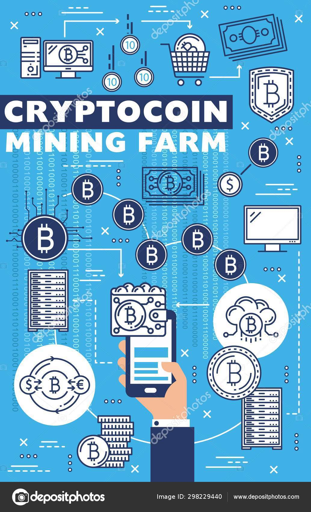 farm bitcoin online