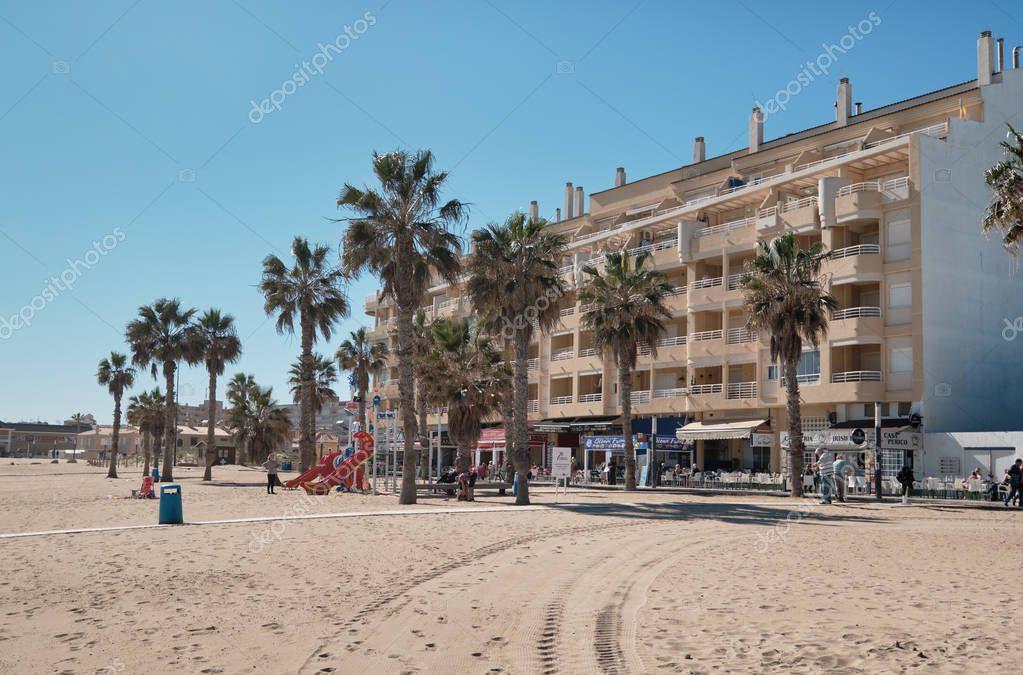 La Mata beach, Spain