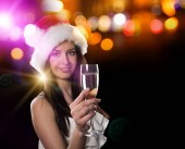 New year, celebration, friends, birthday party.