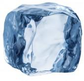 Fotografie Eiswürfel. Makroaufnahme der Eiswürfel. Datei enthält Beschneidungspfad