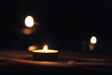 Memorial Day International Holocaust Remembrance Day The candle burns in memory of the dead