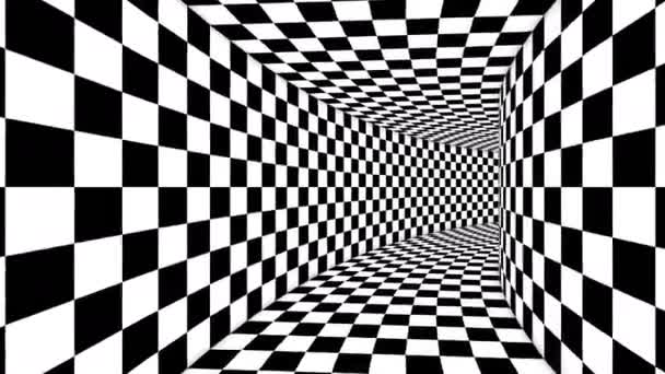 Optical Cubic Black and White Illusion