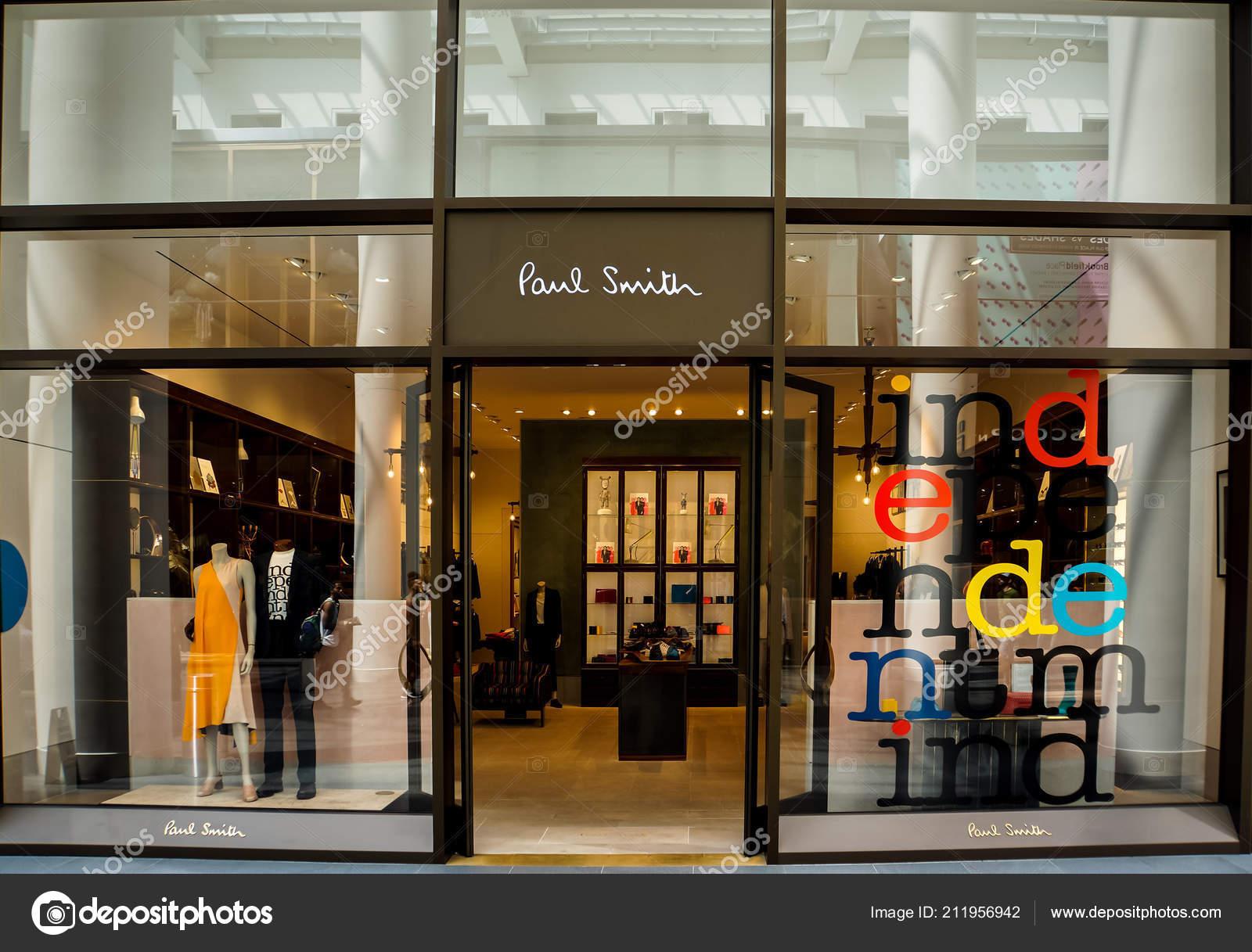 Paul Smith Usa >> New York Usa May 2013 Detail Paul Smith Store New Stock