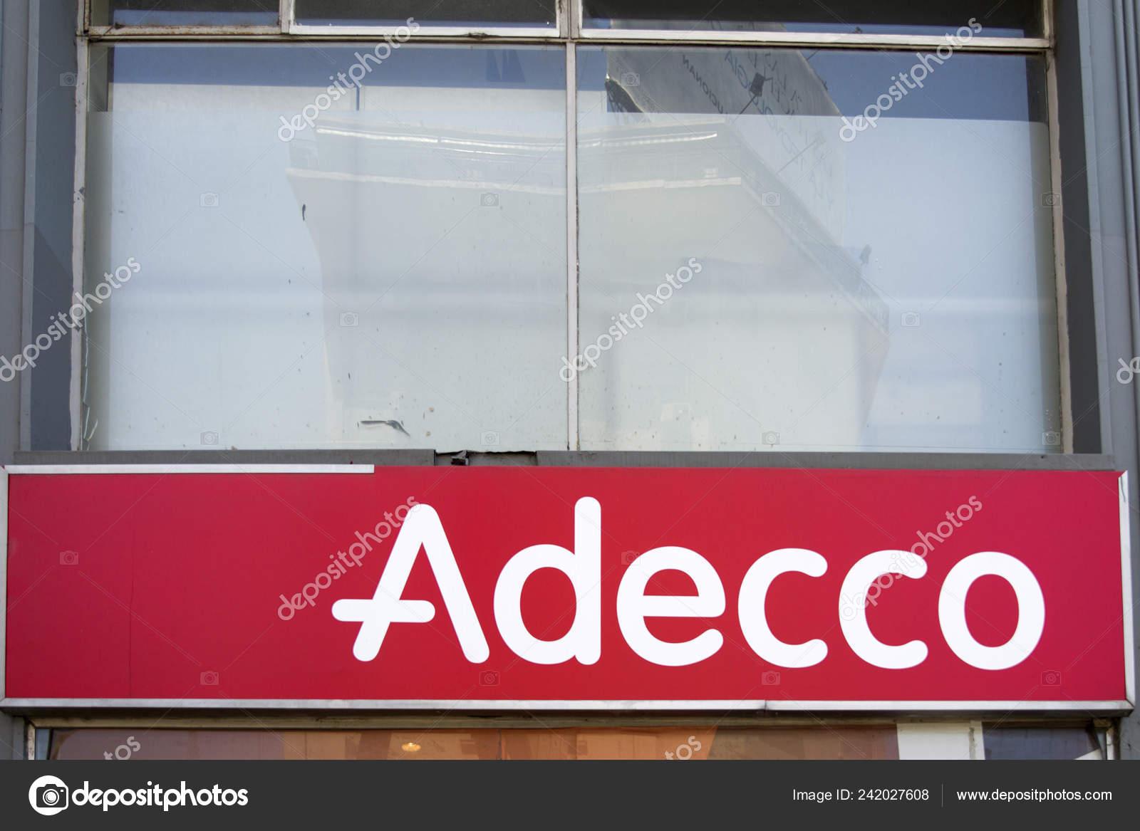 Buenos Aires Argentina January 2018 Detail Adecco Company