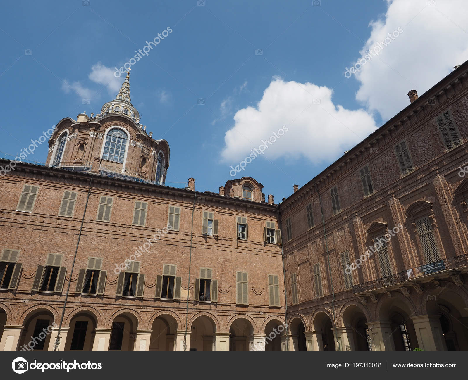Turin Italy Circa May 2018 Cappella Della Sindone Meaning Holy