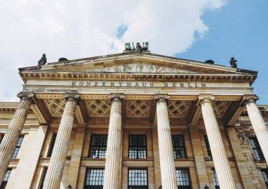 Konzerthaus Berlin concert hall on the Gendarmenmarkt square in central Mitte district in Berlin, Germany