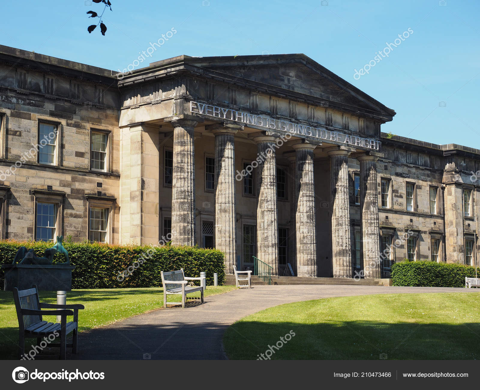 National Gallery Of Modern Art Edinburgh Scotland