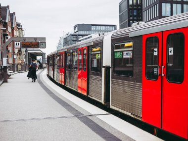 HAMBURG, GERMANY - CIRCA MAY 2017: S-Bahn (S-Train) rapid transit system