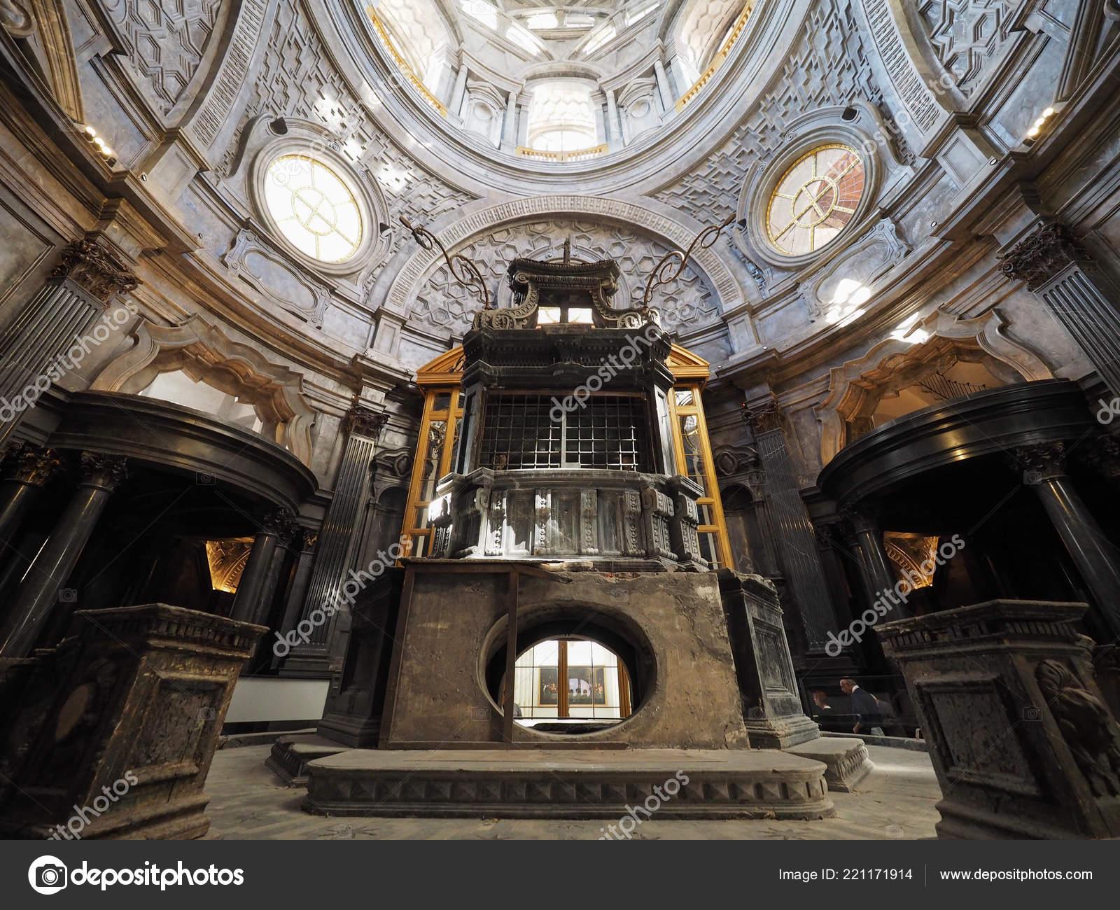 Turin Italy Circa October 2018 Cupola Cappella Della Sindone Meaning
