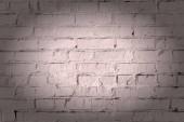 Fotografie Prázdné hnědé pozadí, tmavě béžové cihlovou zeď. Textury zdiva. Krásný vzor s viněty