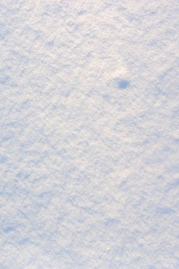 Beautiful texture of fresh new snow. Blank white background . Place for text. stock vector