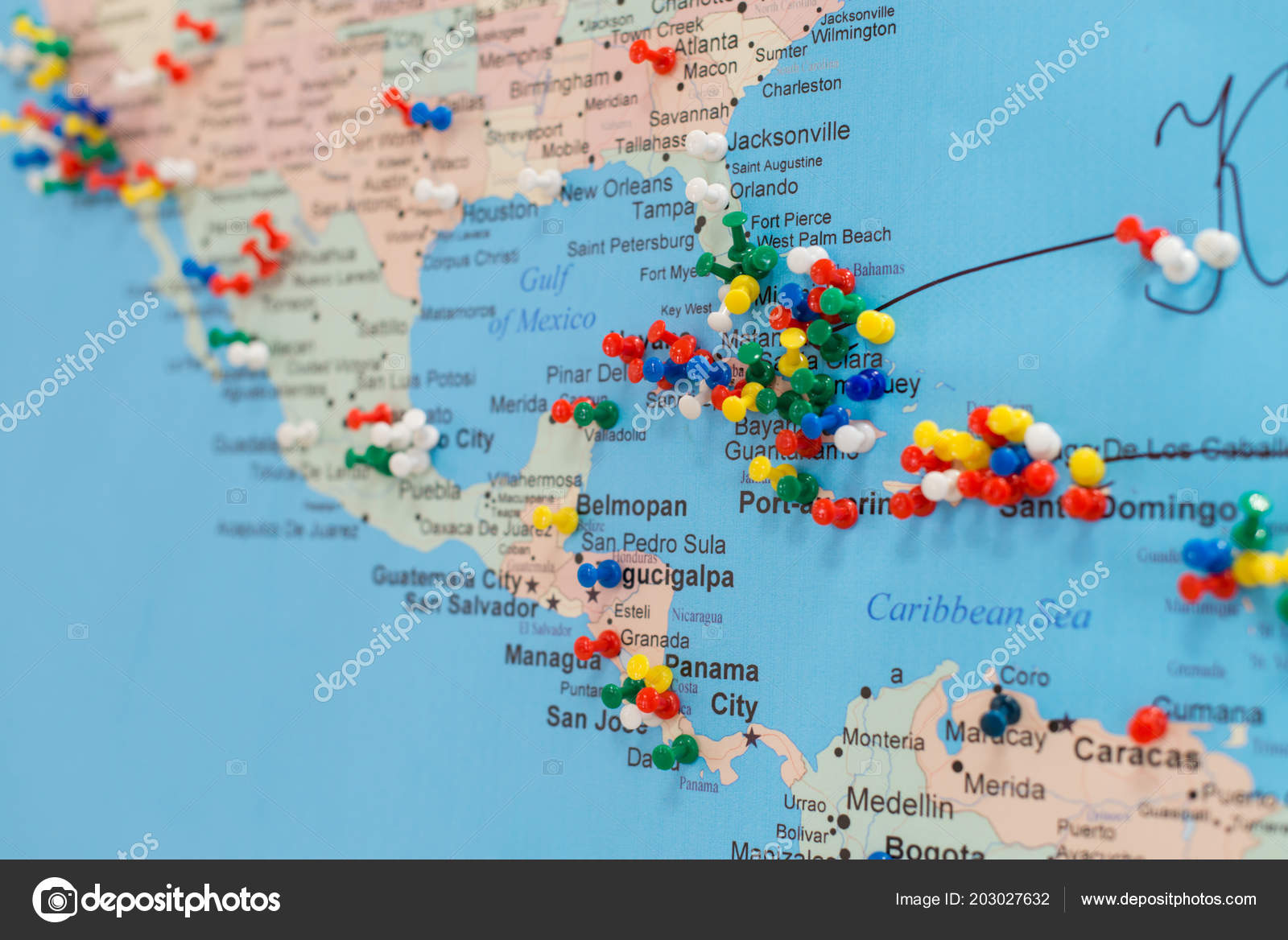 Buttons Cuba World Map Soft Focus — Stock Photo © smspsy ...