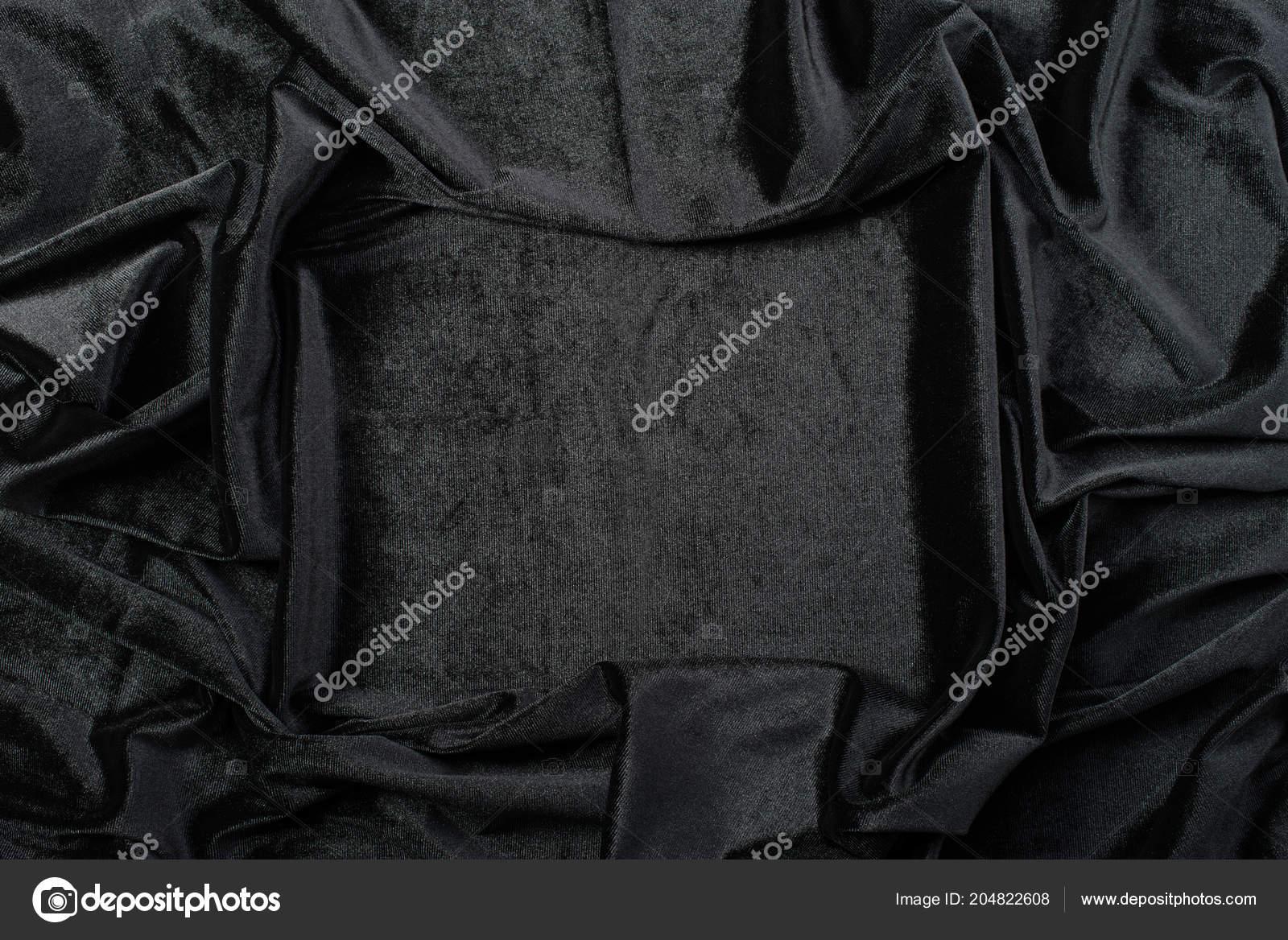 Gyűrött fekete bársony textúra háttér — Fotó szerzőtől smspsy b2f4102dfb