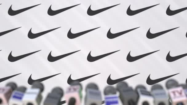 Image result for nike press conference