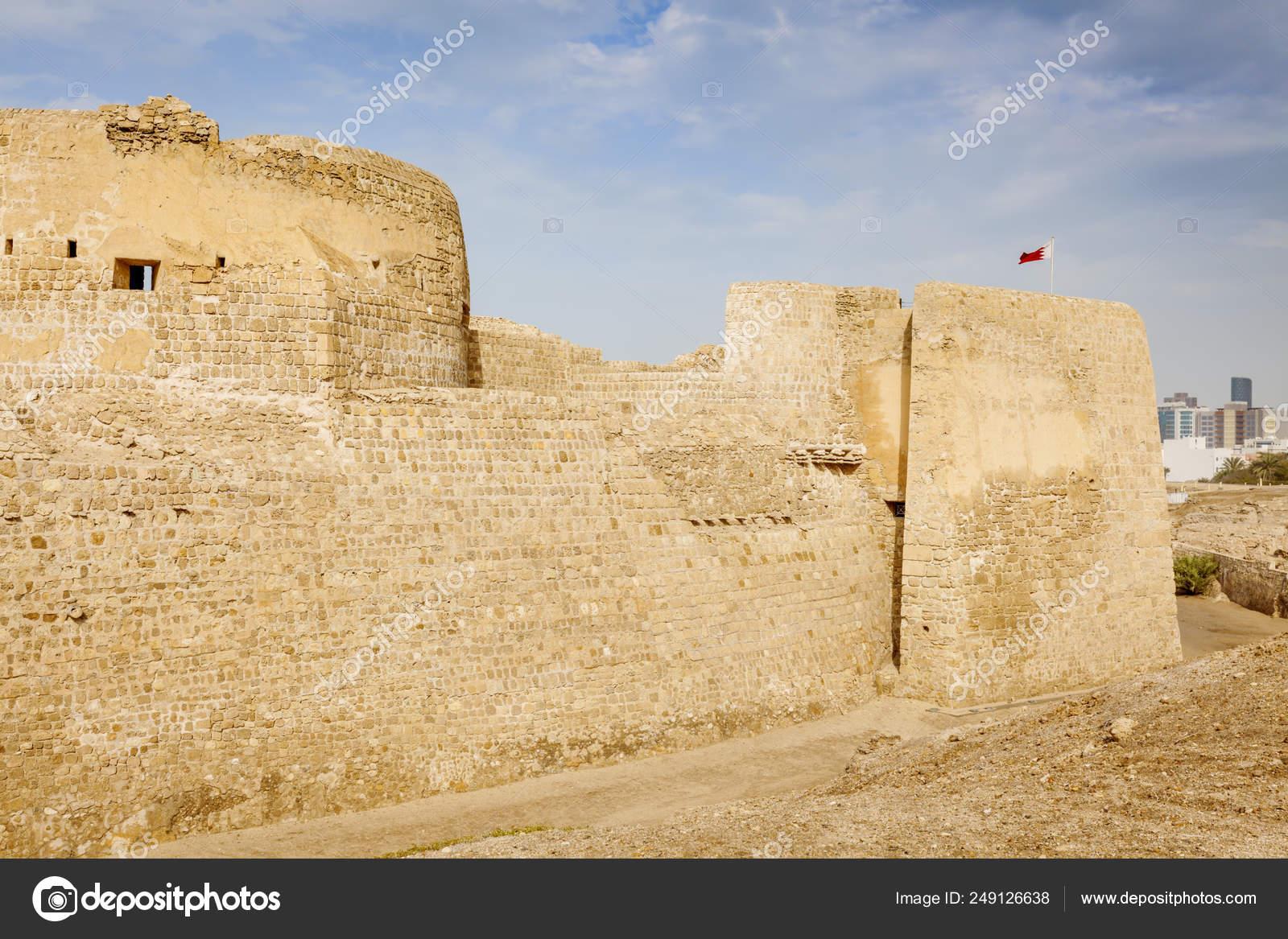 Bahrain Fort — Stock Photo © benkrut #249126638