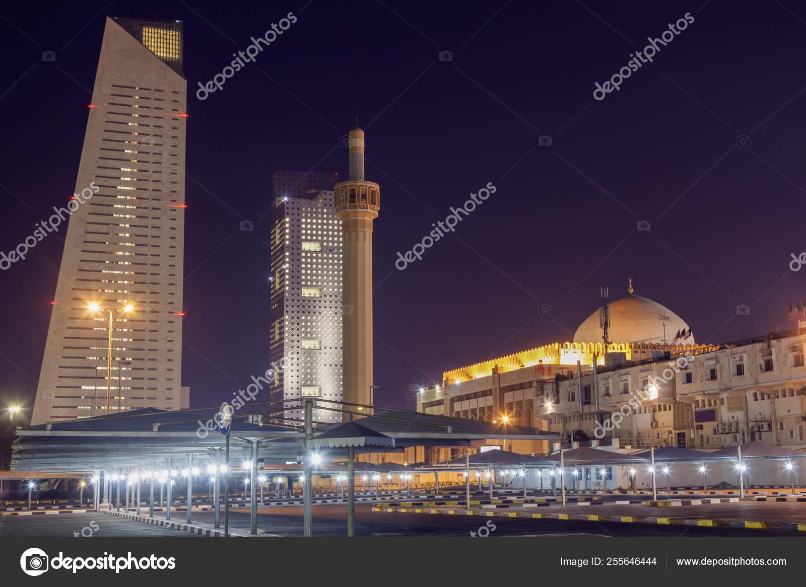 Grand Mosque in Kuwait City — Stock Photo © benkrut #255646444