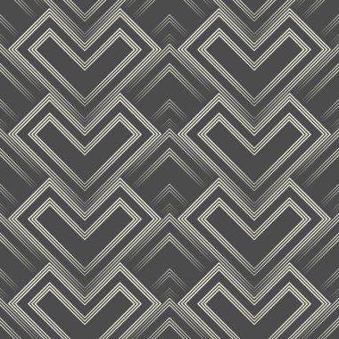 Vector Regular 3d Geometric Texture. Seamless Gradient Pattern
