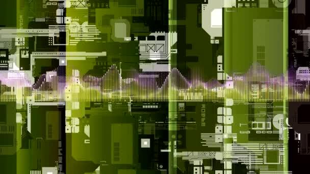 taneční indikátorů na obrazovce