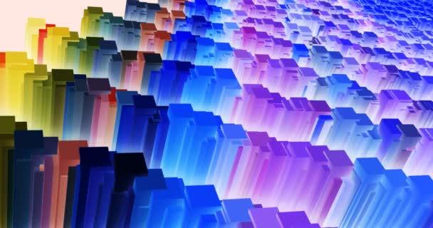 tánc, geometriai formák, a képernyőn