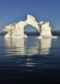View of Icebergs in Greenland