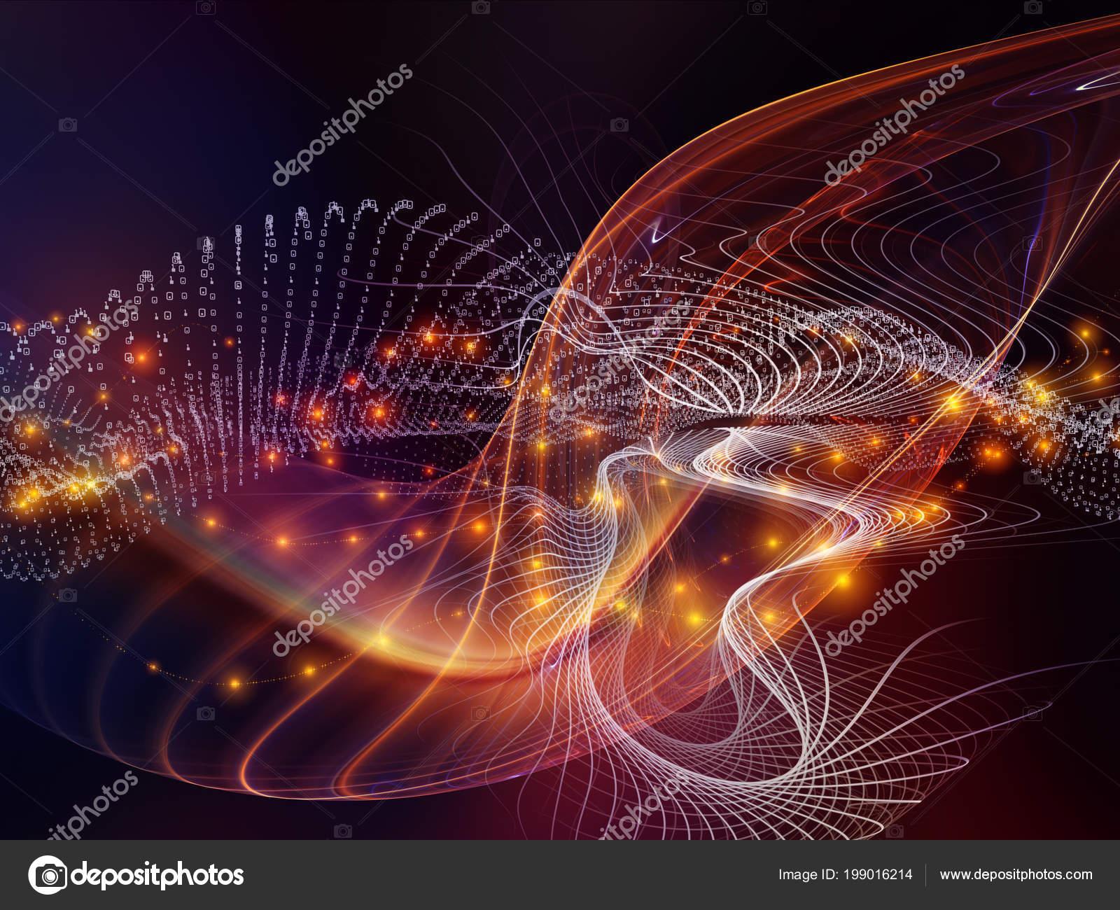 Tecnologia serie numeri sfondo cifre griglie luci completare vostro design foto stock - Griglie di aerazione design ...