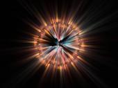 Fotografie Světelný sekvenční série. Pozadí, zobrazující výbušný pohyb světlé abstraktní prvky