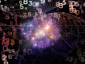 Matematické řady Reality. Složení čísel, světel a fraktální vzory na téma z matematiky, vzdělávání a vědy